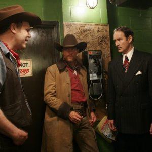John C. Reily Woody Harrelson e Kevin Kline nel film Cadio America
