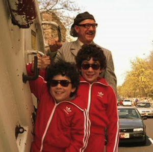 Gene Hackman e i figli di Ben Stiller ne I Tenenbaum