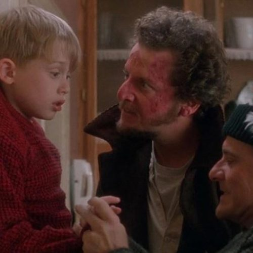 Mamma ho perso l'aero Natale ladri casa